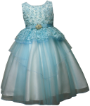 GIRLS FLOWER DRESSES (1242414) MINT